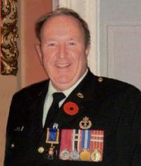 Maj Donald Calvin Duplisea, OMM, MB, CD (Ret'd)