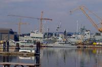 View from Base CE Esquimalt // La vue du GC de la base d'Esquimalt