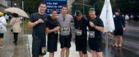 34 CER Detachment Rouyn 2014 Army Run finishers.