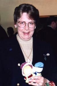 Carol M. Isfeld with Izzy Dolls