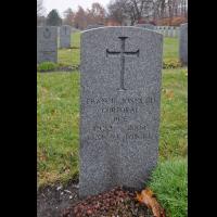 "Gravestone Cpl Francis Archibald ""Corkey"" Jones (Ret'd)"