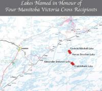 Norman Mitchell Lake Map