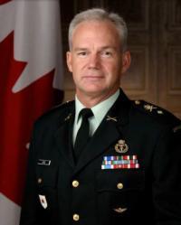 Brigadier General Fred A. Lewis, M.S.M., C.D.