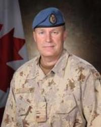 Major Stephen Manser, CD