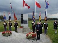 Op BERLIN Memorial near Driel in Holland