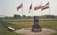Op BERLIN Memorial at Driel Holland