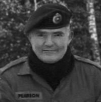 Sgt Gerry Pearson, CD (Ret'd)