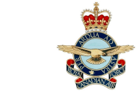 RCAF Badge worn by G/Capt McLeod at retirement