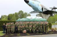 RMC Cadets at 19 Wing Comox