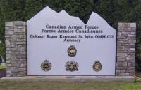 Colonel Roger Kenwood St. John, OMM, CD Armoury / Manège militaire du colonel Roger Kenwood St. John, OMM, CD