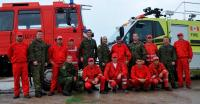 Canadian and Romanian Firefighters - TF Romania
