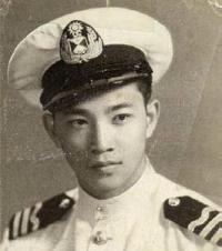 Sapper Herbert Lim in Merchant Marine service