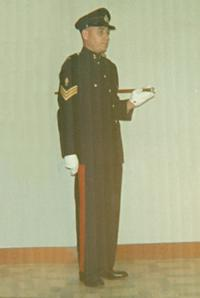 Sgt George Anderson (Ret'd)