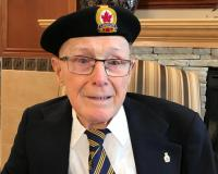 Elmo Baird, ex-Canadian Forestry Corps and Royal Air Force