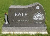 Sapper Bernie Pershing Bale (Ret'd), Hillside Cemetery, Medicine Hat