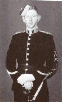Major (then Officer Cadet) Sedley Sweeny Bell-Irving, MC (Ret'd)