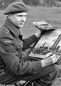 Bruno Bobak, War Artist, Ex-Sapper