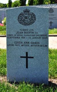 "LCol Jean Edouard ""John"" Boivin, CD (Ret'd)  in Beechwood Cemetery, Ottawa, ON"
