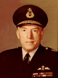 MGen Norman Chalmers Brown, DFC, MiD, CD (Ret'd)