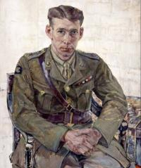 Capt CN Mitchell, VC from the Beaverbrooke Collection at the Canadian War Museum