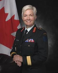 Brigadier-General M.A.J. (Jennie) Carignan, Commander 2nd Canadian Division and Joint Task Force (East)
