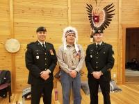 Major Nils French, Chief Jason Louis and Sergeant Derek Shiell