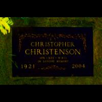 Spr Christopher John ChristensonHeadstone, Nipawin, SK