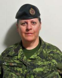 Major Johanne Côté, CD