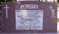John Cronyn's family tombstone in Woodland Cemetery, London, ON