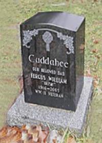 "Spr Fergus William ""Irish"" Cuddahee (Ret'd) St. Mary's Cemetery, Lindsay"