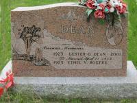 Spr Lester D Dean Sharon Presbyterian Church Cemetery, Halifax, NS