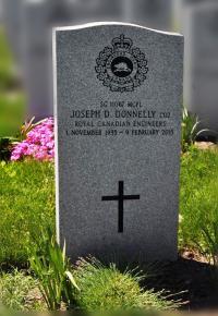 MCpl Joseph Dan Donnelly (Ret'd) Headsone at Beechwood National Military Cemetery, Ottawa