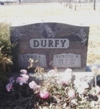 Spr Ronald Durfy's Gravestone, Riverview Cemetery in Wallaceburg, ON
