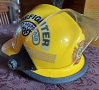 Cpl Greg Geldart's Helmet on his casket as it is taken to the cemetery.