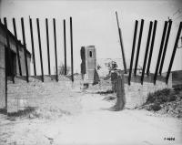 German road defences on the Cambrai Road
