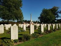 During our time in Europe we saw over 15,000 tombstones.  These ones are at the cemetery in Groesbeek