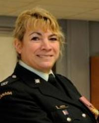 Maj Lisa Anne Hampson, CD,  P.Eng.