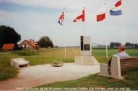 Henk Duinhoven at Engineer Memorial