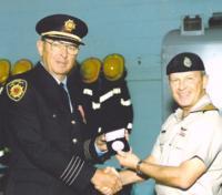 """Warrant Officer Robert Gerard """"Bob"""" L'Abbé, CD (Ret'd)"""