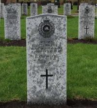 WO Kenneth Albert Bruce Markell's gravestone at Beechwood CD