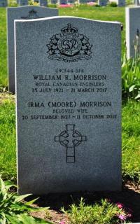 "William Roscoe ""Bill"" Morrison Headsone at Beechwood National Military Cemetery, Ottawa"