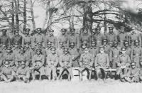 This image from the fall of 1916 shows members of the No. 2 Construction Battalion, Canada's first military unit made up primarily of black personnel. (Nova Scotia Archives)