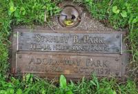 Stanley Bennett Park's Gravemarker Pinecrest Cemetery, Ottawa