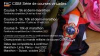 CAF CISM Running Team Virtual Running Series