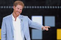 Prince Harry closes Invictus games, Toronto, 30 Sep 17