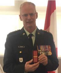 Capt (former CWO / ex Adjuc) Michel Rivard, CD