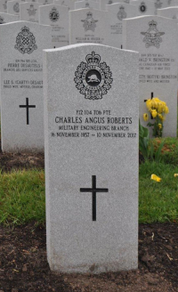 Pte Charles Angus Roberts (Ret'd)