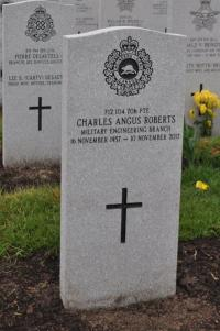 Pte Charles Angus Roberts (Ret'd)v