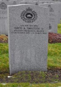 MWO David Alan Smeltzer, CD Beechwood Cemetery