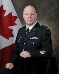 Capt (former CWO) Luc Lemieux, CD